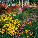 Gorgeous Gardens 2018 Square Wall Calendar Front Cover - Plato Calendars All Rights Reserved