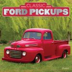Ford Pickups 2018 Square Wall Calendar Front Cover - Plato Calendars All Rights Reserved