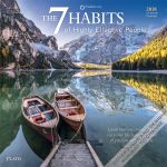 7 (Seven) Habits of Highly Effective People by Stephen R. Covey 2018 Square Wall Calendar Front Cover - Plato Calendars All Rights Reserved