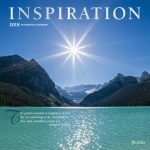 Inspiration 2018 Square Wall Calendar Front Cover - Plato Calendars All Rights Reserved
