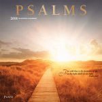 Psalms 2018 Square Wall Calendar Front Cover - Plato Calendars All Rights Reserved
