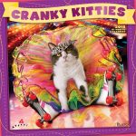 Cranky Kitties by Avanti 2018 Square Wall Calendar Front Cover - Plato Calendars All Rights Reserved