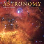 Astronomy 2018 Square Wall Calendar Front Cover - Plato Calendars All Rights Reserved