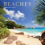 Beaches 2018 Square Wall Calendar Front Cover - Plato Calendars All Rights Reserved