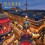 Paris 2018 Square Wall Calendar Front Cover - Plato Calendars All Rights Reserved