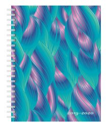 Ariel 2020 6 x 7.75 Inch Weekly 18 Months Desk Planner by Plato, Planning Stationery