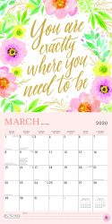 Bonnie Marcus 2020 12 x 12 Inch Monthly Square Wall Calendar with Foil Stamped Cover by Plato, Fashion Designer Stationery