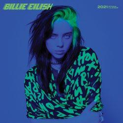 Billie Eilish 2021 12 x 12 Inch Monthly Square Wall Calendar by Plato, Music Pop Singer Songwriter Celebrity