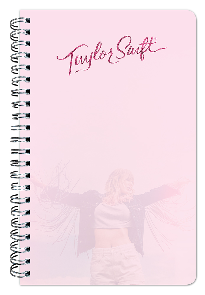Taylor Swift 2021 Compact Wire Journal by Plato, Music Pop Singer Songwriter Celebrity