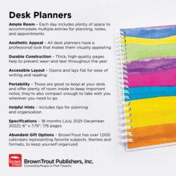 2022 18-Months Desk Planners